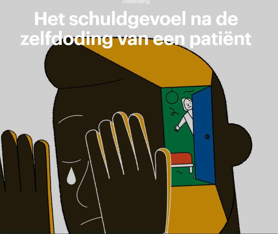 Interview in Trouw m.b.t. zelfdoding patiënt